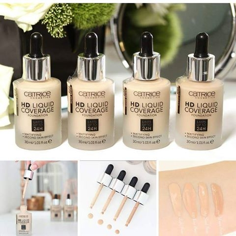 Kem nen Catrice HD Liquid Coverage Foundation - Duc (5)