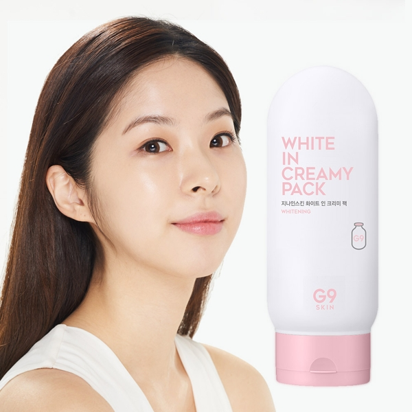 Mat na u trang G9SKIN White In Creamy Pack 200 ml (5)