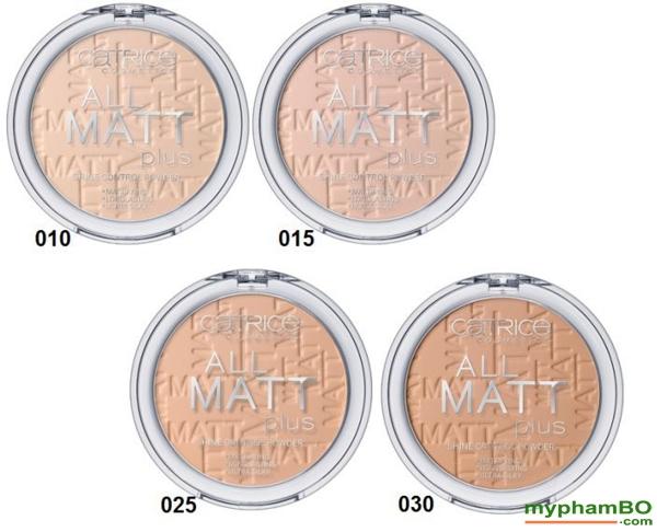Phan phu Catrice All Matt Plus Shine Control Powder (5)