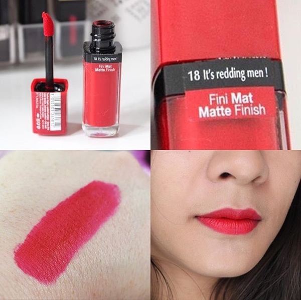 Son li Velvet 18 Bourjois Rouge Edition It's Redding Do tuoi (11)