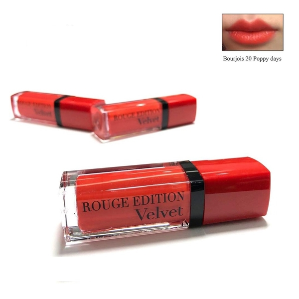 Son lo Velvet 20 Bourjois Rouge Edition Poppy days e cam (4)