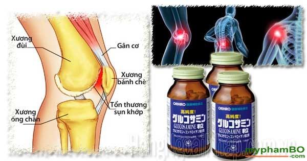Vien uong Glucosamine Orihiro – Thuoc bo xuong tang cuong sun khop Nhat Ban (2)