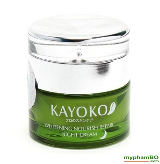 Kem lam trang hong, tinh khiet ban dem KAYOKO (Night Cream) (1)
