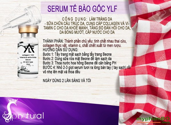 Serum te bao goc nhau thai cuu va Collagen tuoi + Vitc YLF (1)