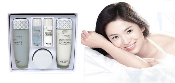 Bo My Pham 3W Clinic Collagen White Duong Trang Da (2)