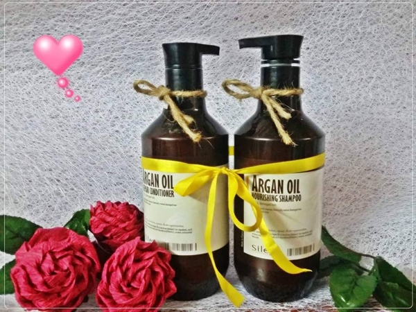 Bo dau Goi xa Siley Argan Oil 500ml - Phap (5)