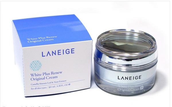 Kem duong trang da Laneige white plus renew original cream (1)