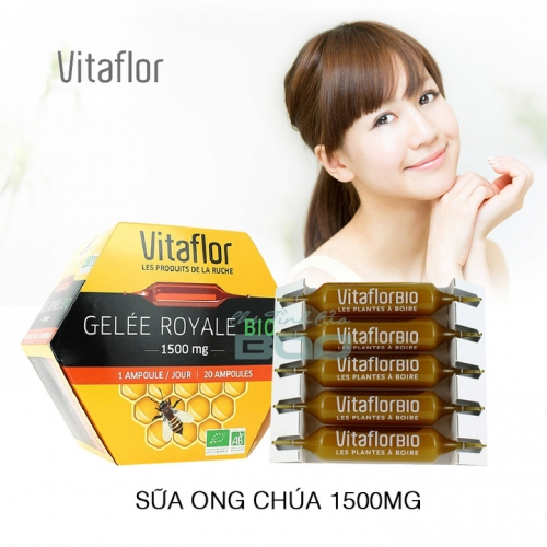 Sua ong chua Vitaflor Bio 1500mg - Phap (7)