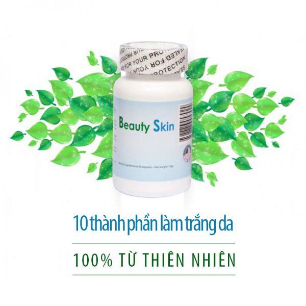 Vien uong trang da beauty skin - Nhap khau My (2)