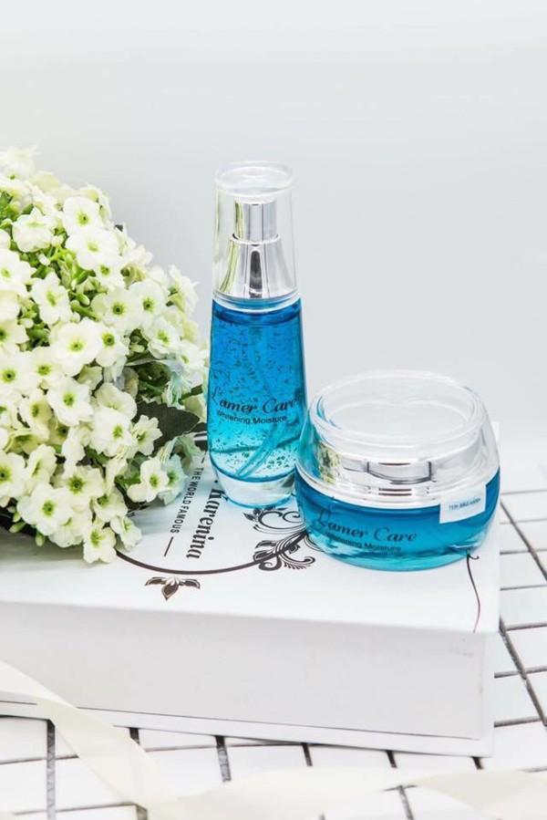 Bo kem duong trang Whitening Moisture Cream Ultra Lamer care (5)
