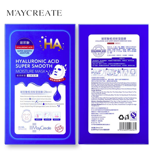 Mat na HA MayCreate - Hyaluronic Acid Super Smooth Mask (1)