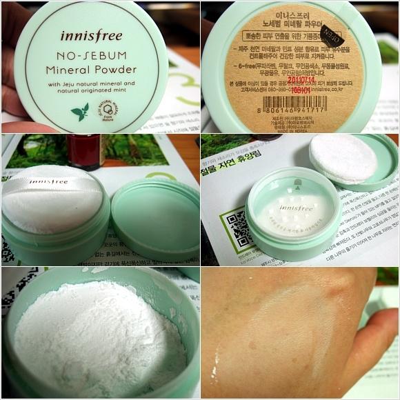 Phan phu kiem dau dang bot Innisfree no sebum mineral powder (3)