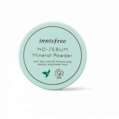Phan phu kiem dau dang bot Innisfree no sebum mineral powder (4)