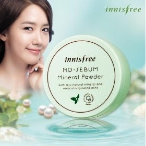 Phan phu kiem dau dang bot Innisfree no sebum mineral powder (7)