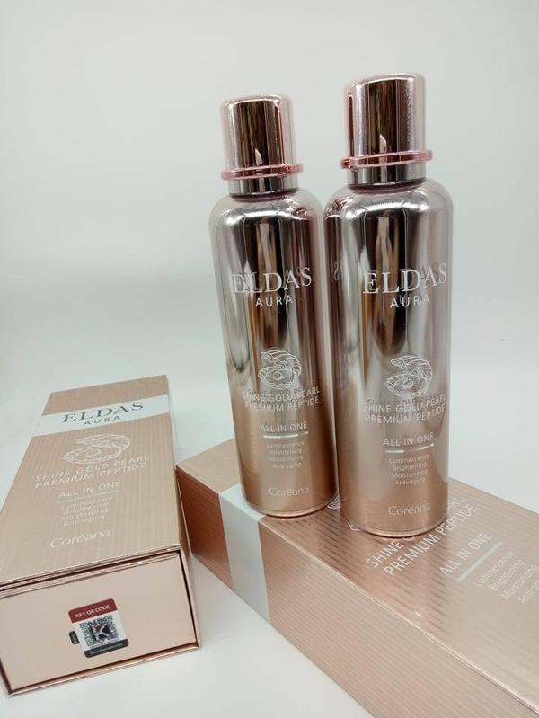 Serum Eldas AURA Shine Gold Pearl Premium Peptide (2)