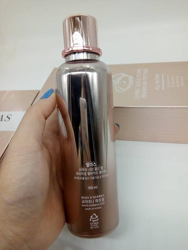 Serum Eldas AURA Shine Gold Pearl Premium Peptide (4)
