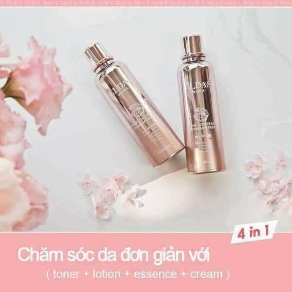 Serum Eldas AURA Shine Gold Pearl Premium Peptide (5)