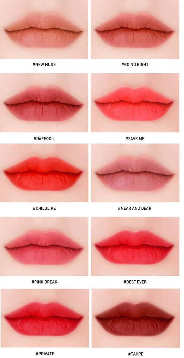 Son kem li 3CE Velvet Lip Tint - Han Quoc (1)