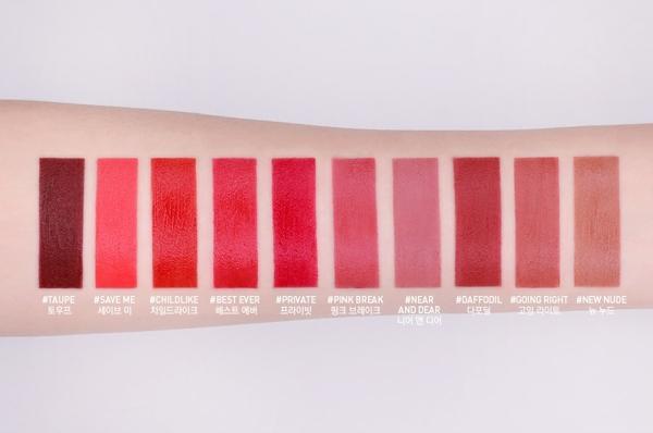Son kem li 3CE Velvet Lip Tint - Han Quoc (5)