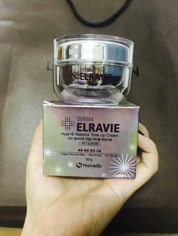 Kem Duong Trang Tri Nam Elravie Hyal - 6 Waterful Tone Up Cream (2)