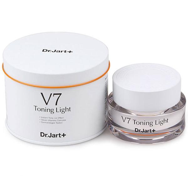 Kem Duong Trang Va Tai Tao Da V7 Toning Light Han Quoc (5)