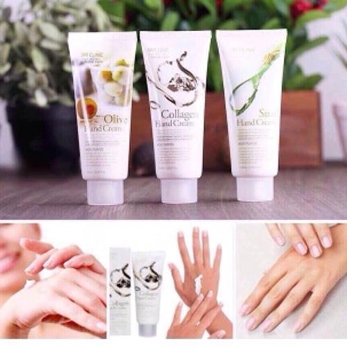 Kem duong da tay 3W Clinic Pure Natural Hand Cream (1)