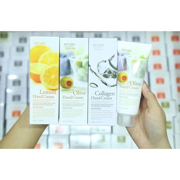 Kem duong da tay 3W Clinic Pure Natural Hand Cream (3)