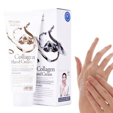 Kem duong da tay 3W Clinic Pure Natural Hand Cream
