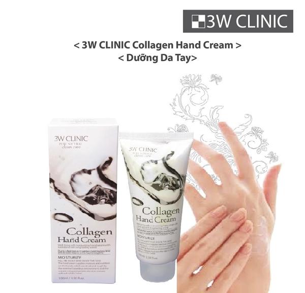 Kem duong da tay 3W Clinic Pure Natural Hand Cream (5)