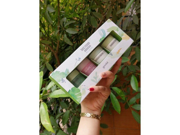 Set kem oc sen Goodal mini best cream collection (2)