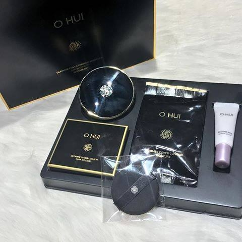 Set phan nuoc OHUI Ultimate Cover Cushion Moisture Special (1)