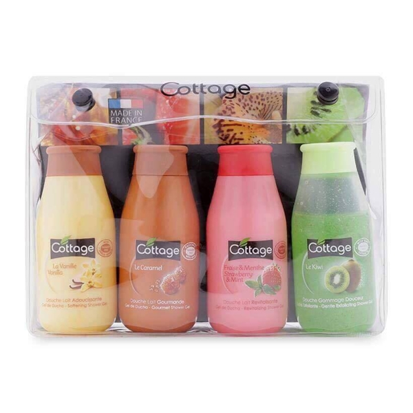 Set sua tam du lich 4 chai Cottage 50ml Phap (3)