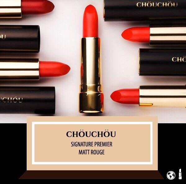 Son Chou Chou Signature Premier Matt Rouge - Han quoc (3)