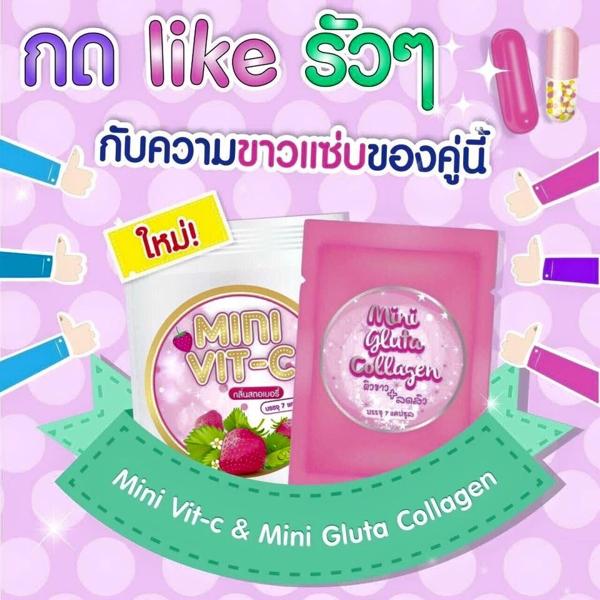Vien uong Trang Da Mini Gluta Collagen - Thai Lan (3)