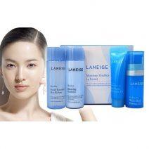 Bo Dung Thu Duong Trang Da Laneige White Dew Trial Kit (4 Items) (1)