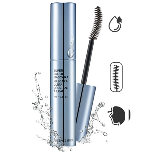 Chut Mi Khong Troi Super Proof Mascara The Face Shop (2)