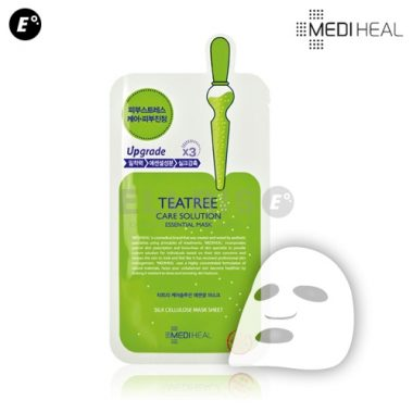 Mat na Mediheal chua tinh chat tra xanh ngan ngua mun Teatree Care Solution Essential Mask (5)