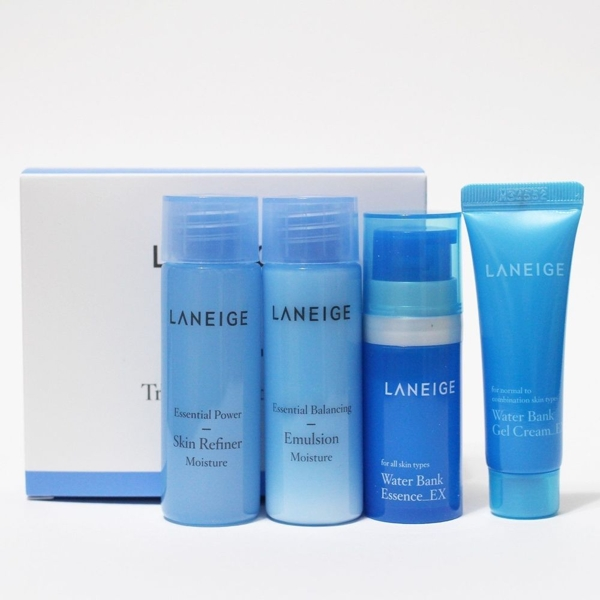 laneige water bank trial kit instructions