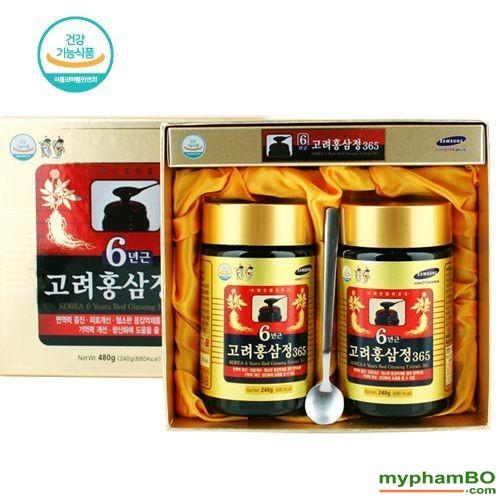 Cao hong sam Korean 6 years red ginseng extract 365 (5)(1)