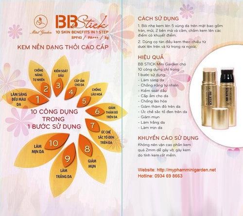 Kem Nen Dang Thoi Da Nang Mini Garden BB (11)