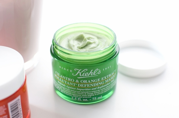 MAT NA NGU KIEHL'S CILANTRO & ORANGE EXTRACT POLLUTANT DEFENDING MASQUE MINISIZE 14ML (12)