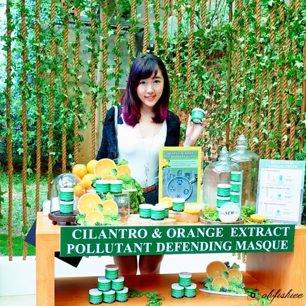 MAT NA NGU KIEHL'S CILANTRO & ORANGE EXTRACT POLLUTANT DEFENDING MASQUE MINISIZE 14ML (6)