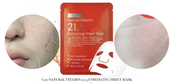 Mat Na Giay OST Natural Vitamin 21.5 - Enhancing Sheet Mask (11)