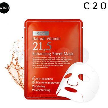 Mat Na Giay OST Natural Vitamin 21.5 - Enhancing Sheet Mask (2)