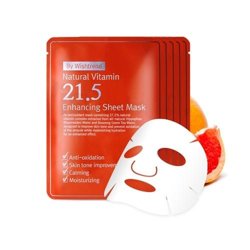 Mat Na Giay OST Natural Vitamin 21.5 - Enhancing Sheet Mask (6)