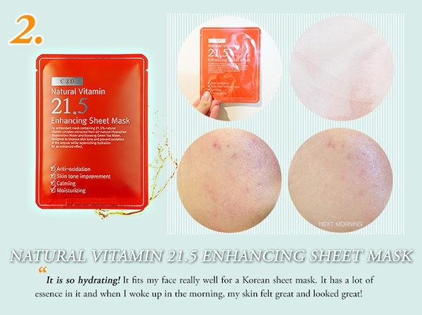 Mat Na Giay OST Natural Vitamin 21.5 - Enhancing Sheet Mask (7)