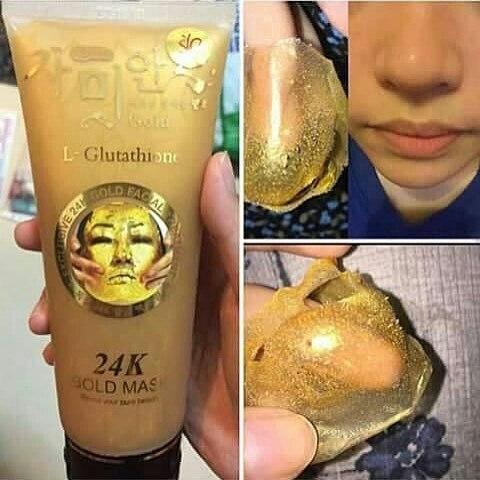 Mat na vang 24K Gold Mask (L- Glutathione) Han Quoc (4)