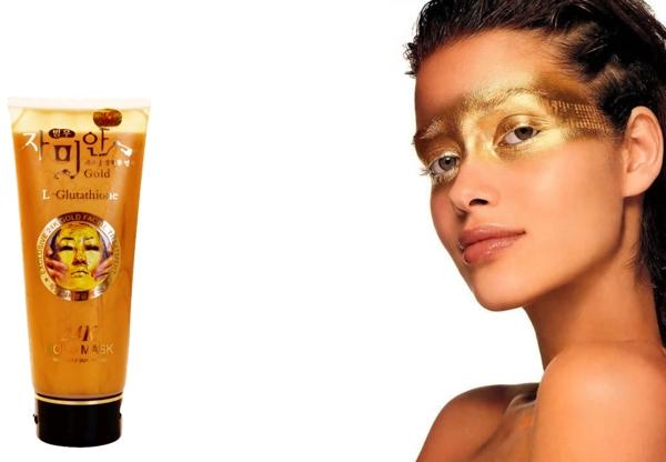 Mat na vang 24K Gold Mask (L- Glutathione) Han Quoc (5)