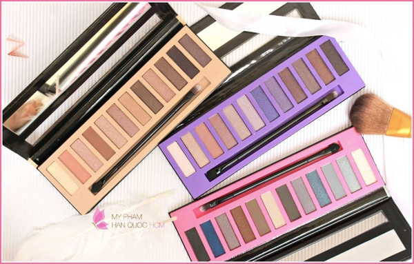 Phan Mat LA Girl Eyeshadow Collection Nudes (4)