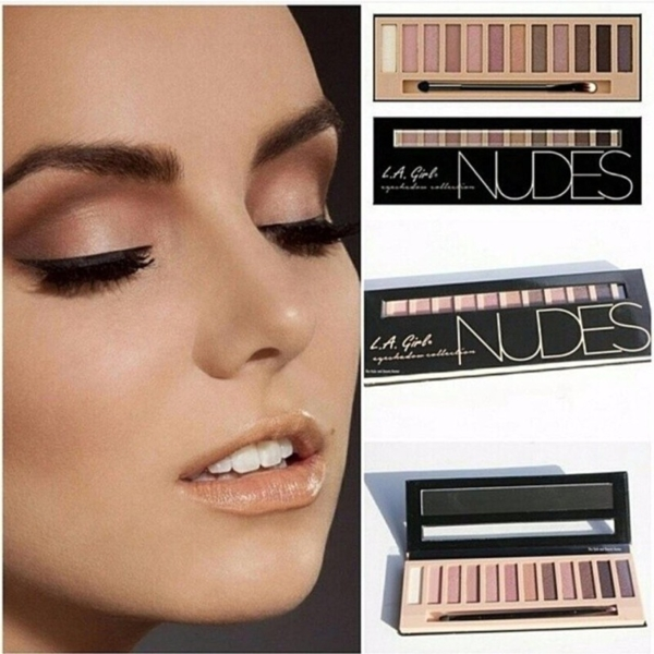 Phan Mat LA Girl Eyeshadow Collection Nudes (8)